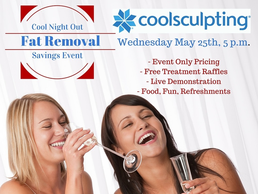 CoolSculpting Sales Event May 25th 2016. Savings -  Information