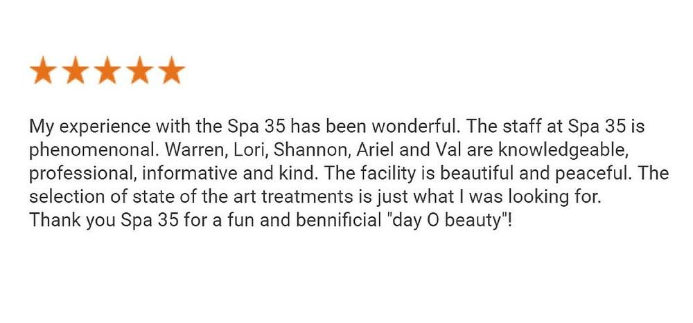 Google Plus Review Botox CoolSculpting IPL Med Spa