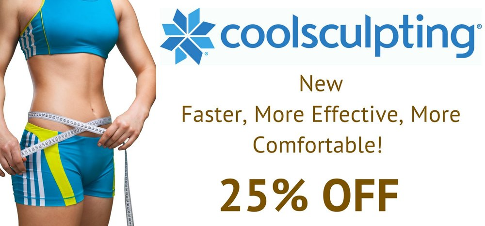 CoolSculpting non-surgical fat removal is 25% off in November. We have the latest technology that is more effective, more comfortable and faster than the original CoolSculpting.