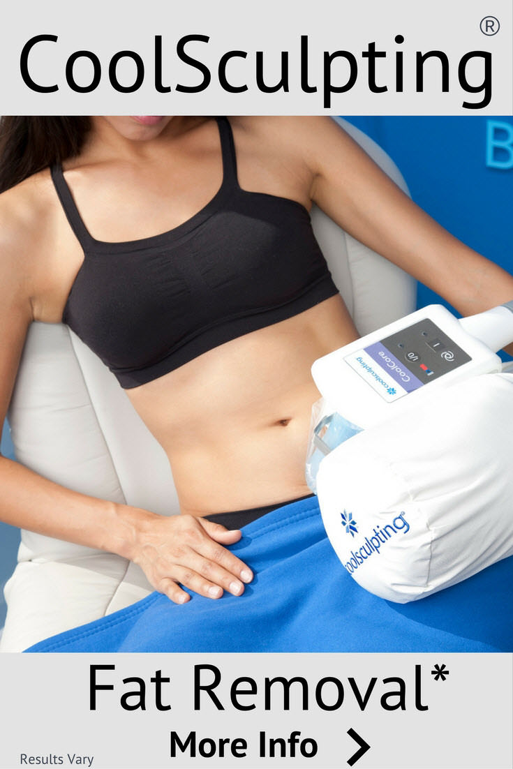 Fat removal without surgery. CoolSculpting removes fat and contours the body without needles or surgery