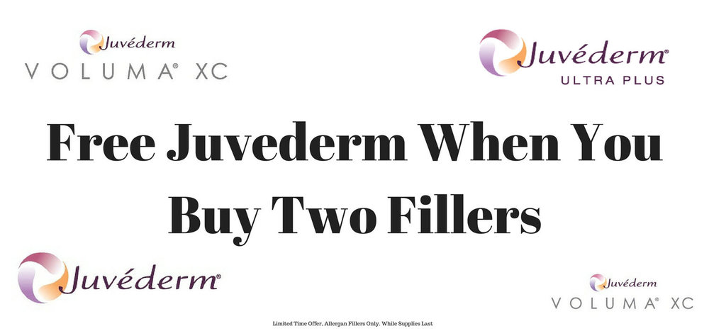 Free Juvederm with Allergan filler purchase