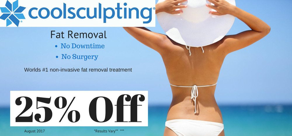 Coolsculpting is the worlds leading non-surgical fat removal system in the world! Not get allergan brilliant distinction points with every treatment!