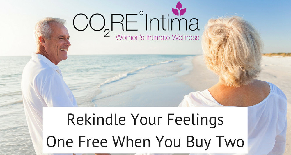 """Painful intercourse and post child birth incontinence can be improved with Intima vaginal rejuvenation. ask about combining intima with the """"O Shot"""" to maximize your love life."""