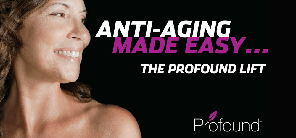 Profound Lift creates younger skin by rebuilding collagen and elastin. Micro-needles are used to deliver radio frequency energy into the dermis while protecting the epidermis.