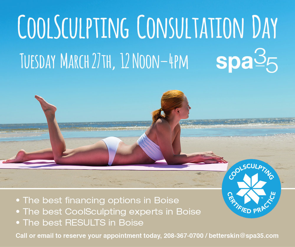 CoolSculpting Non Surgical Fat Removal. No downtime, fantastic results!