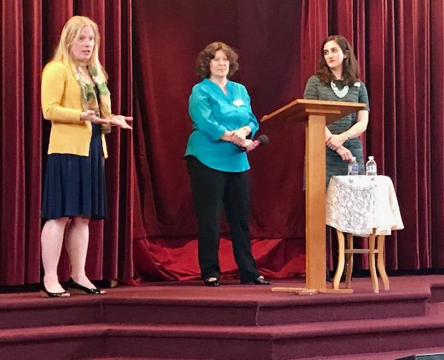 Carrie Frederick Frost, Teva Regule, and Kyra Limberakis