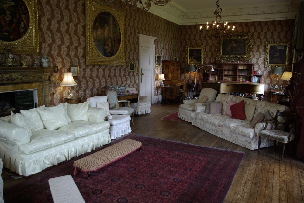 Kinblethmont House - drawing room