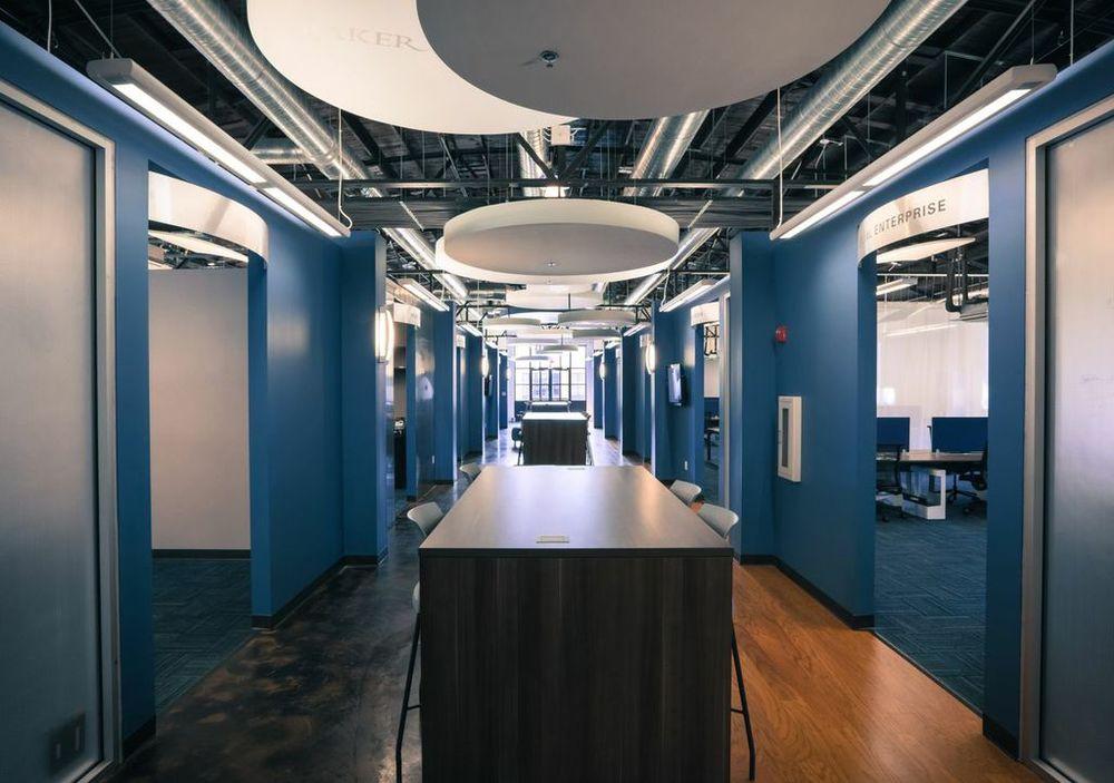 Entrepreneur Center Collaborative Work Space