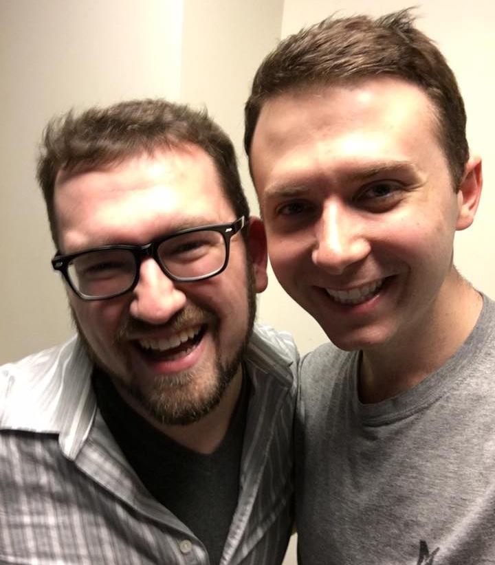 Benji and Stefan at NYU in 2016