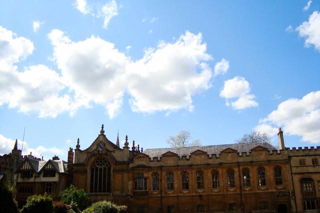Photo taken at Oxford University, Spring 2010