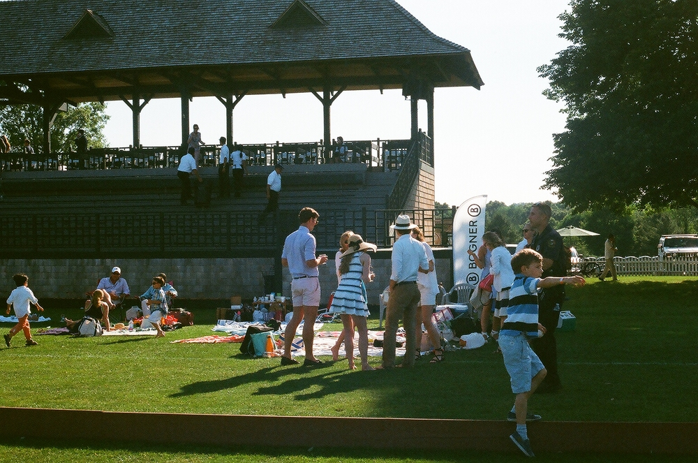 My friends, opening day at the Greenwich Polo Club
