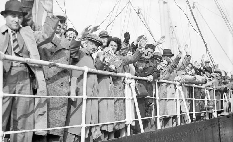 Getty Images via  this article  on Americans rejecting Jews fleeing Nazi Germany