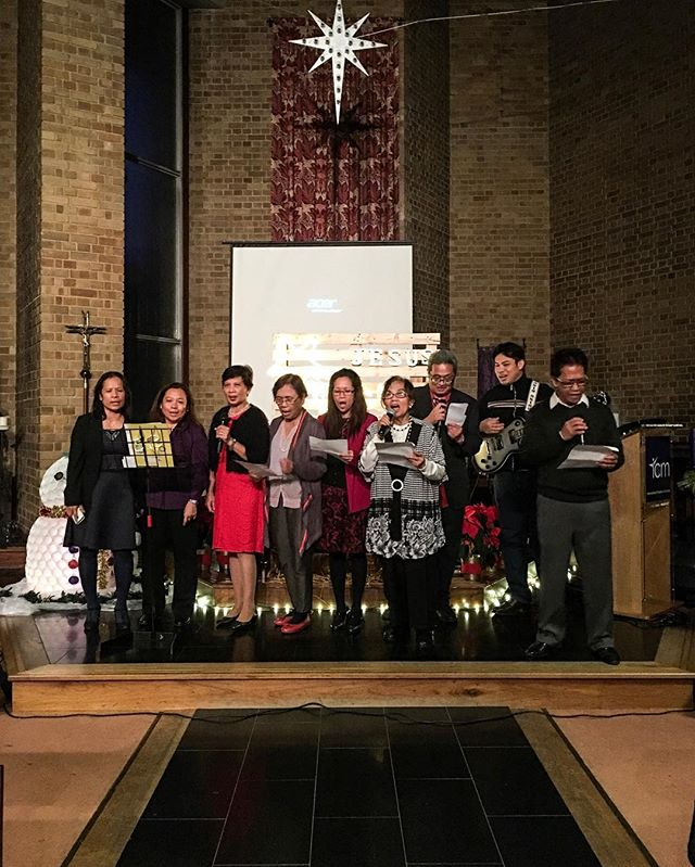 The ICM Kings Cross elders singing at our ICM joint Christmas service. Merry Christmas everyone! #icmkingscross