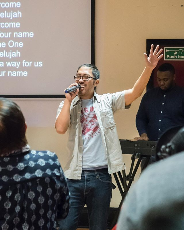 Jesus, You're the One. Hallelujah Hallelujah! #icmkingscross
