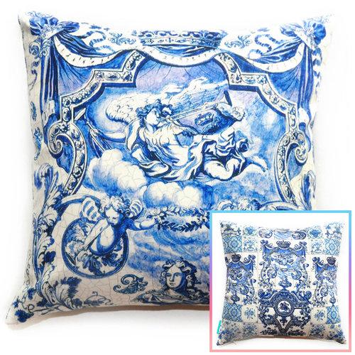 Divinely Delft Pillow — THROW PILLOWS & INTERIOR DECOR LOS ANGELES