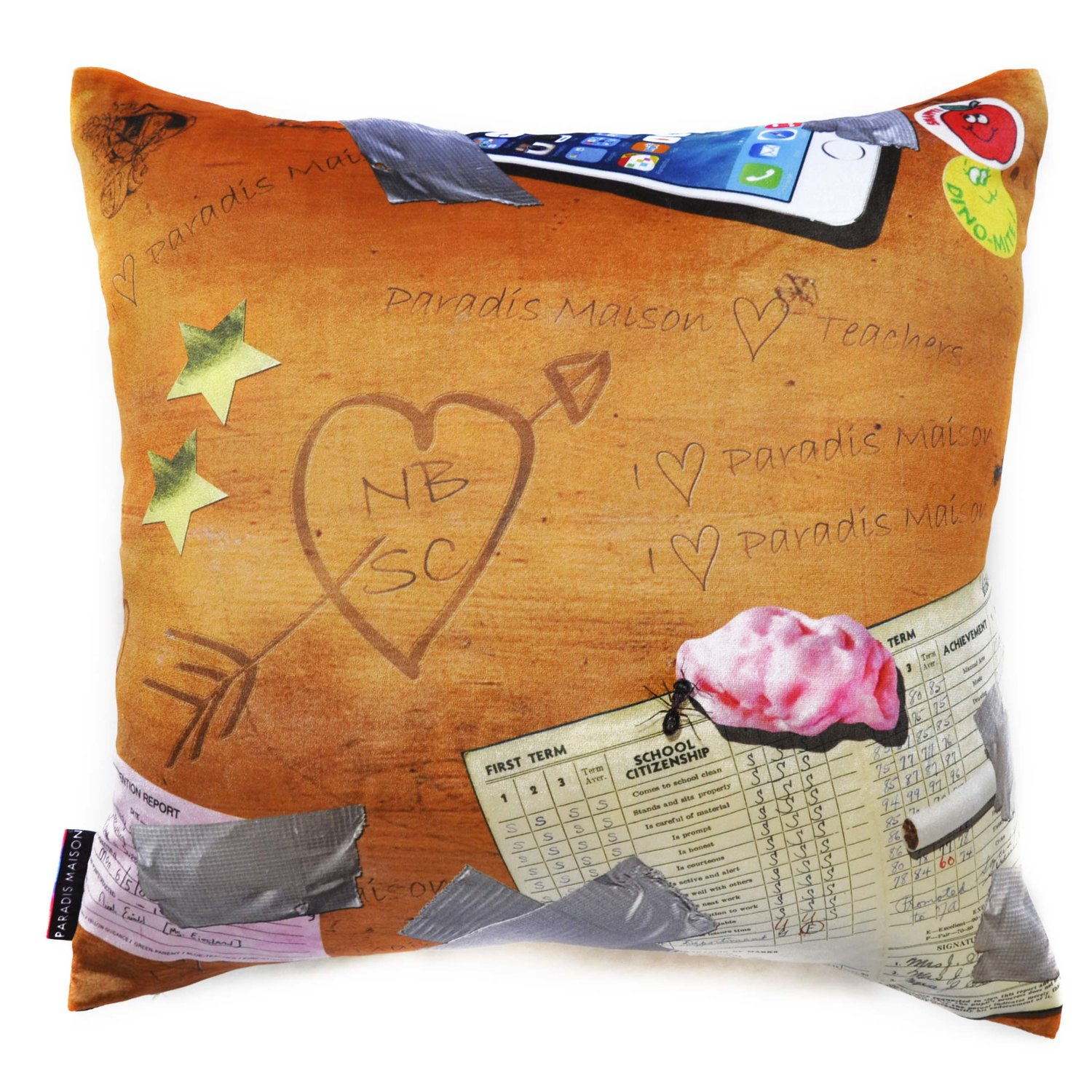 at aura pillow velvet luxury by cushion queenb