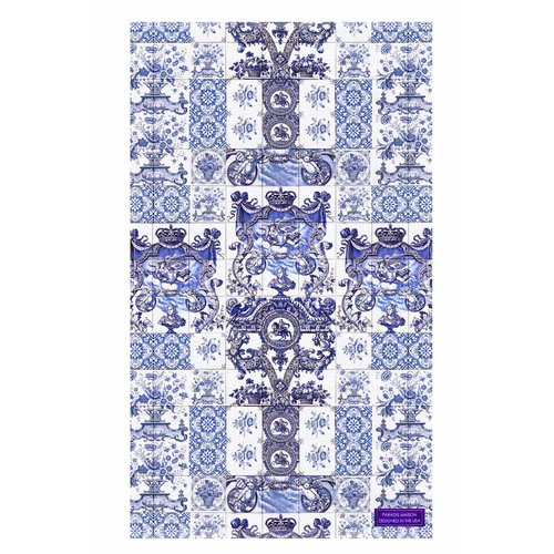 Divinely Delft Blue Tiles Hand Towel — THROW PILLOWS & INTERIOR ...