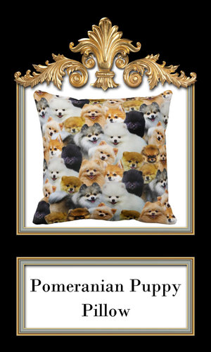 44f4ad6bbf5ea Animal themed decor & accessories, pomeranian throw pillows ...