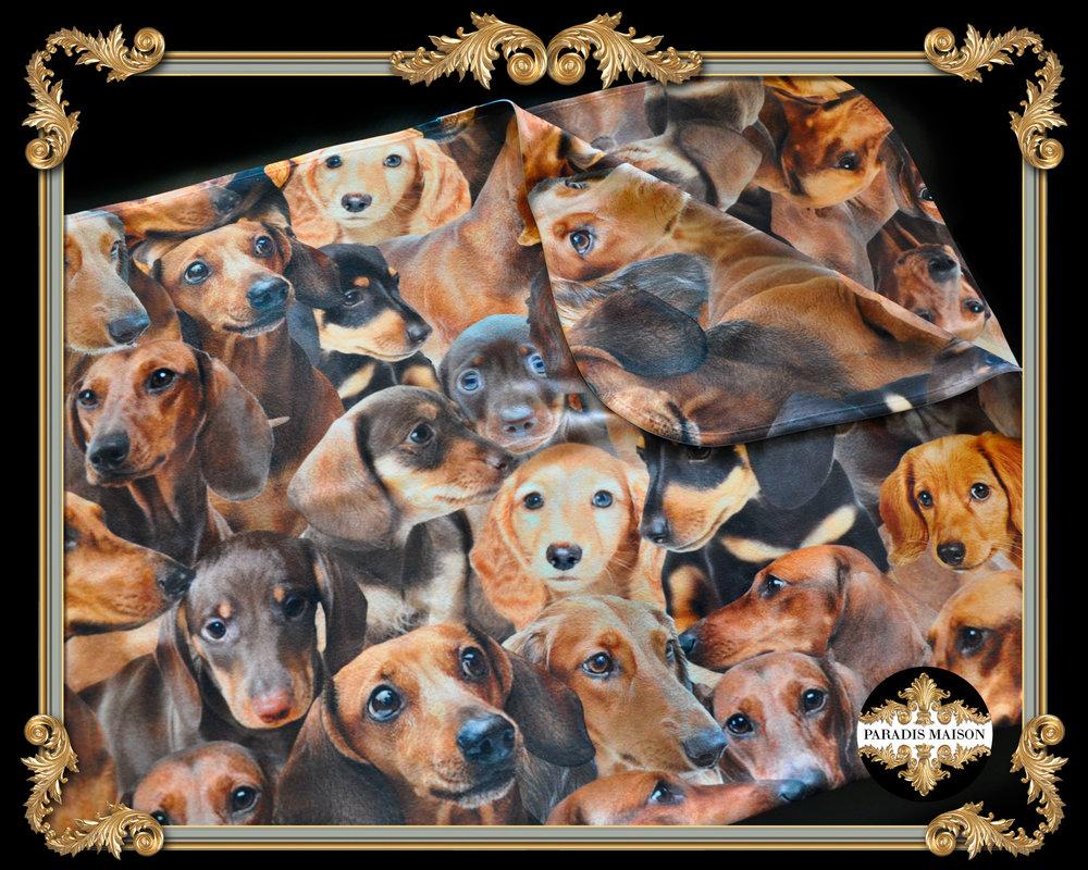 dachshund dog baby blanket