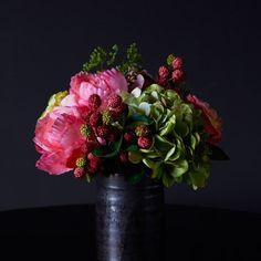 floral still life interior design