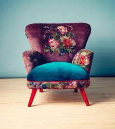 flower arm chair