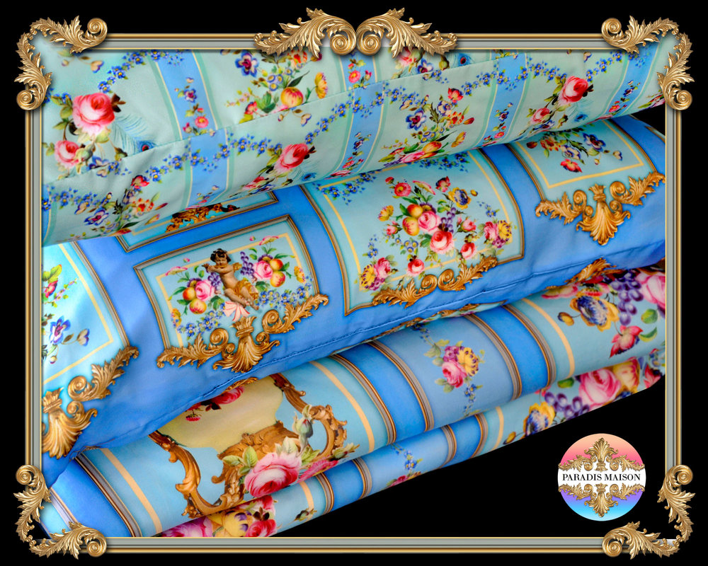ornate french style comforter