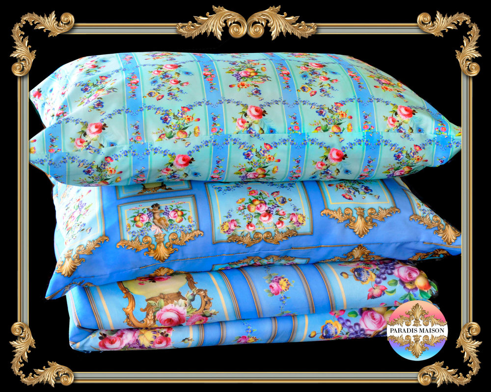 ornate french style comforter cover