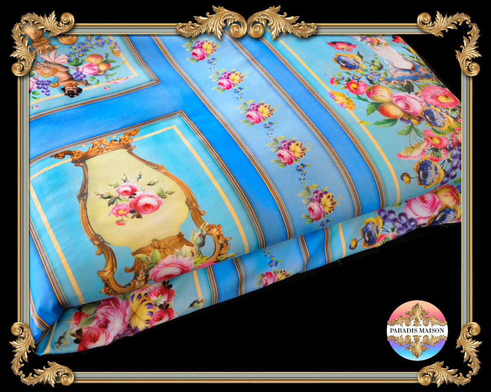 baroque versailles style duvet cover set bed sheets