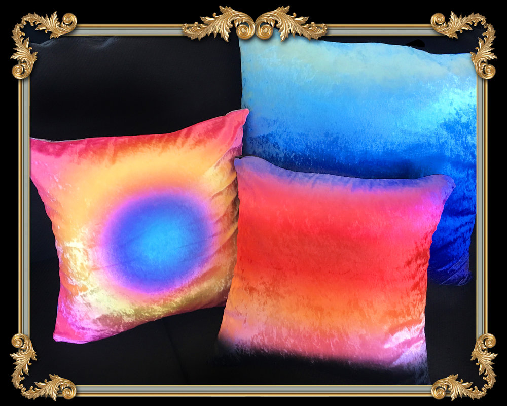 VELVET OMBRE PILLOWS LOS ANGELES