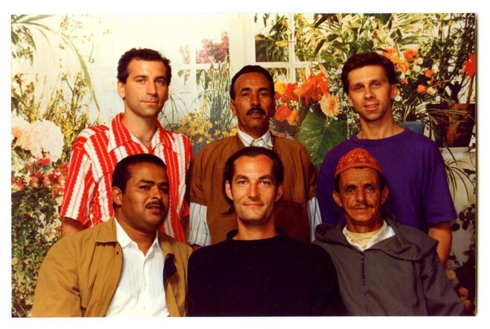 (Left to Right from bottom) Ben Lamouden, Jeff Noble, Rais M'Saud, Eric Rosenzveig, Rais Mia, Phil Giborski