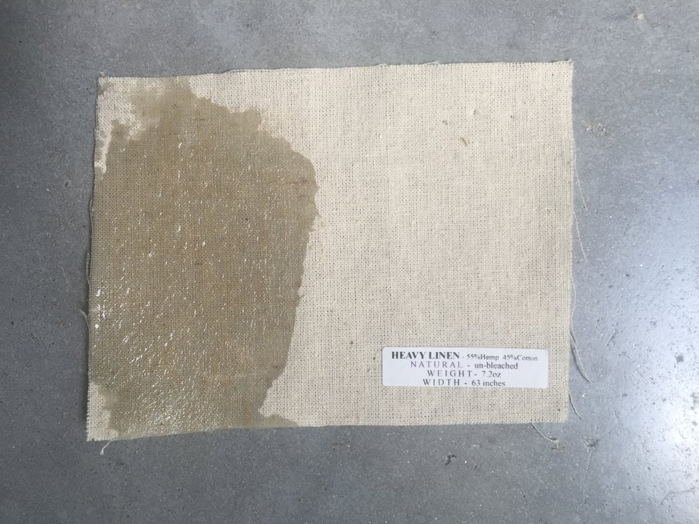 010 Heavy Canvas linen &  hemp with supersap bio resin.JPG