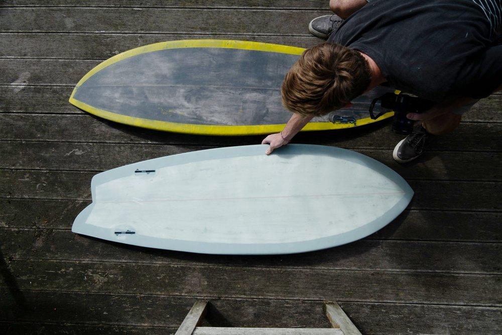 Asymmetric fish two surfboards .jpg