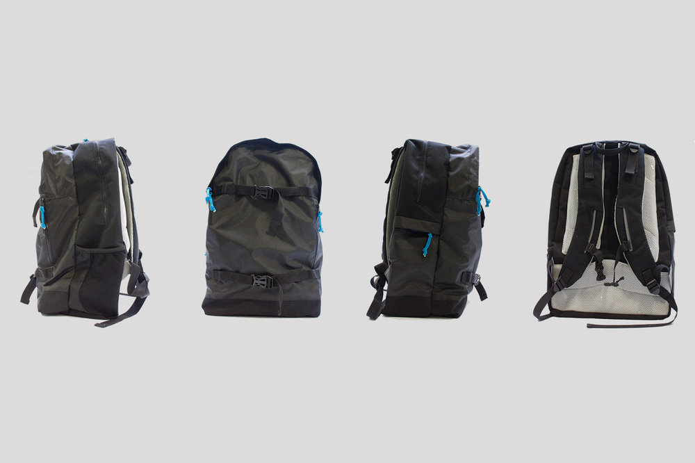 Travel & Adventure Backpack // University Project -