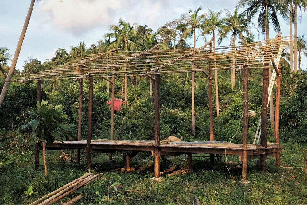 Cambodia. June '17 // Volunteering, Building & Carpentry -