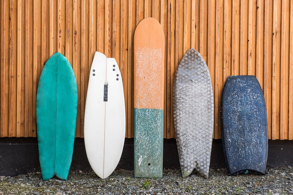 surfboard collection