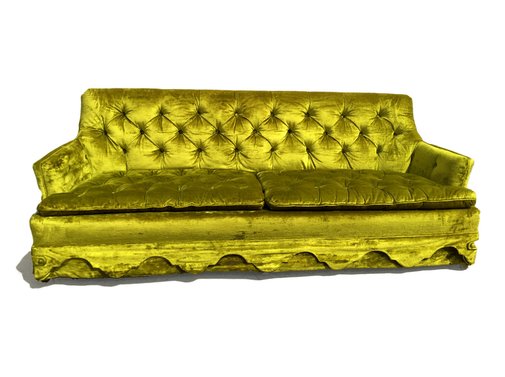 Merveilleux Velvet Sofa