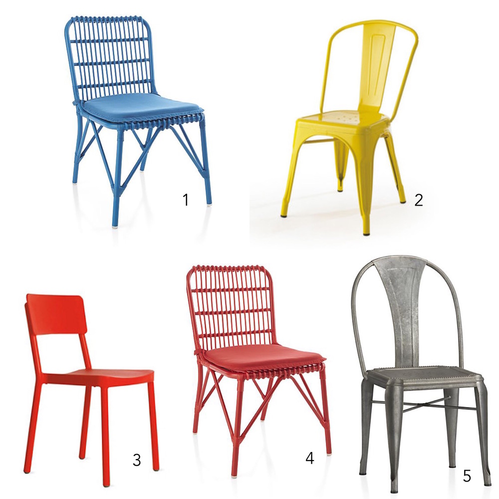 Lily Spindle Top Outdoor Dining Chair picks