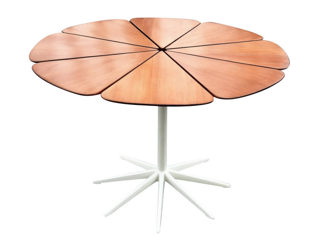 RIchard Schultz redwood petal table for Knoll.