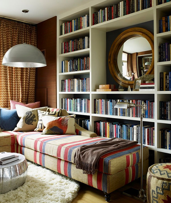Stretch out and read some Dickens, why don't you? (Source: Pinterest)