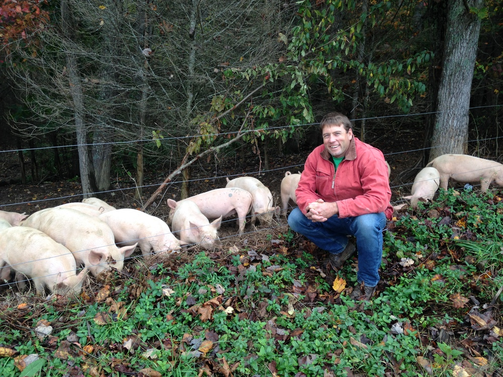 Jamie Ager: Farmer/Owner of Hickory Nut Gap Meats