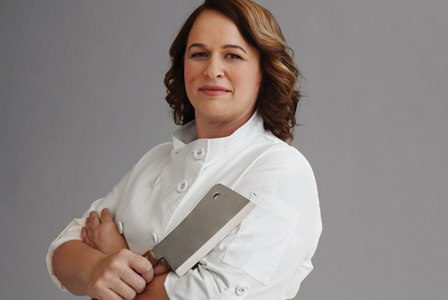 Kari Underly:   Author, The Art of Beef Cutting, Principal, Range Inc., Founder, Muscolo Meat Academy