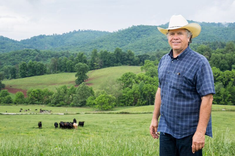 Steve Whitmire: Farmer, Ridgefield Farm/Brasstown Beef, 1973 BS Ag Economics from North Carolina State University