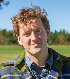 Cody Hopkins, General Manager and Founding Member of Grass Roots Farmers' Cooperative