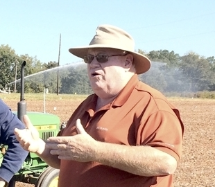 Joe Hampton, Back Creek Farm and Research Operations Manager for NCDA's Piedmont Research Station