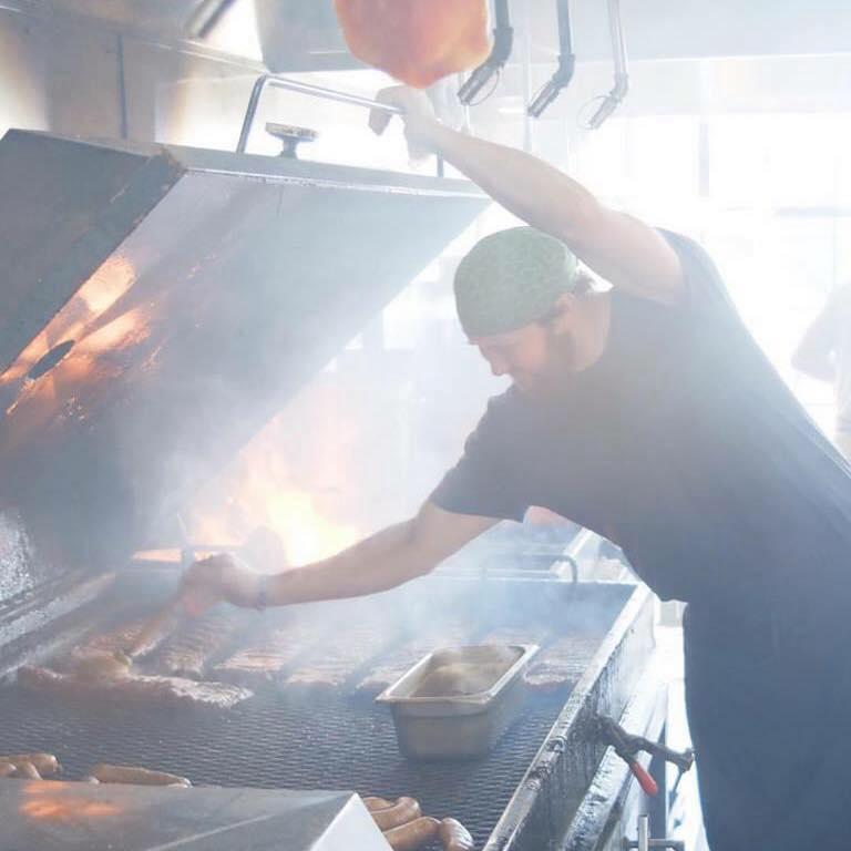 Tyler Schwerzler, Buxton Hall Barbecue