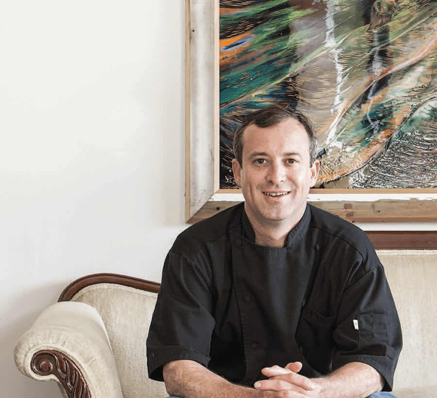 Chef James Doss, Executive Chef and Operating Partner of Rx Restaurant and Bar and Pembroke's in Wilmington, NC