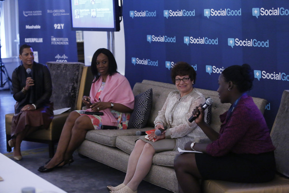 winfred ongom on the social good masterclass panel