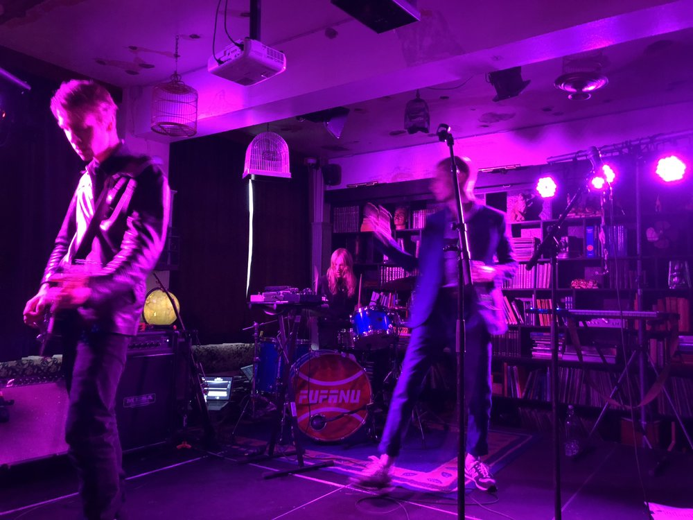 Being live - from our kex gig