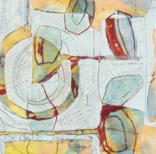 Patricia Kilburg, A Modern Approach to Encaustic Painting