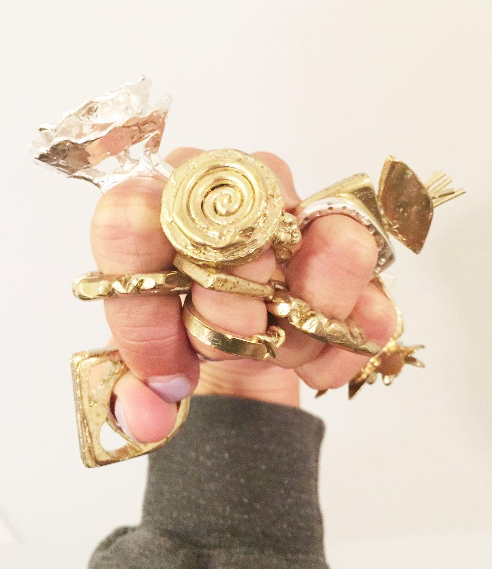 Kate Furman, Intro to Jewelry Fabrication